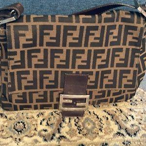Gorgeous Fendi Zucca bag.